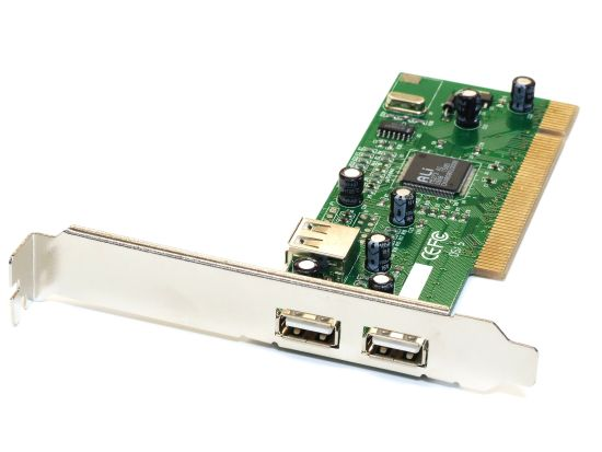 USB & Firewire Cards