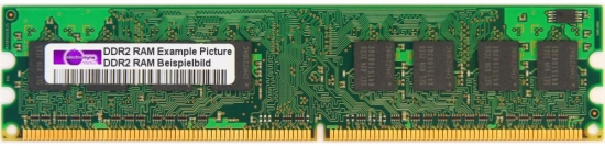 256MB 533MHz DDR2 RAM PC2-4200U 240-Pin Pol Computer Memory PC Arbeits-Speicher