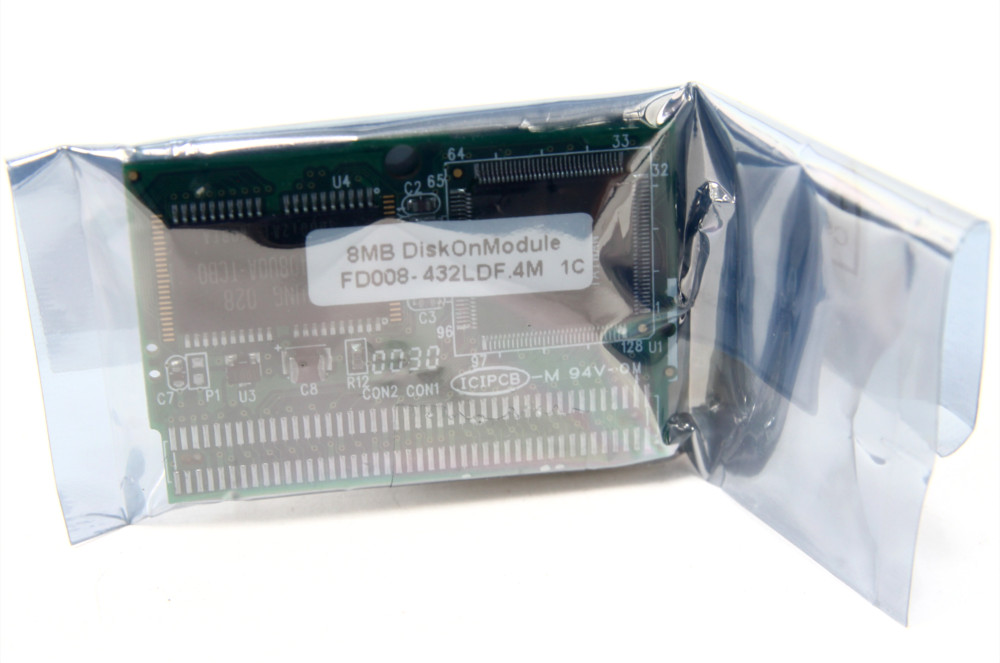 NEW PQI 8MB Disk On Module DOM Flash FD008-432LDF.4M IDE 44Pin PL128-432M memory 4060787075376