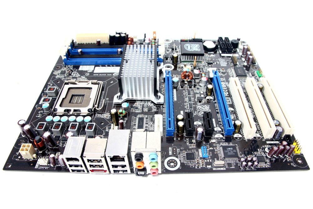 Intel-DP45SG-ATX-Motherboard-Socket-Sockel-LGA775-2xPCI-e-DDR3-P45-Quad-Core-CPU
