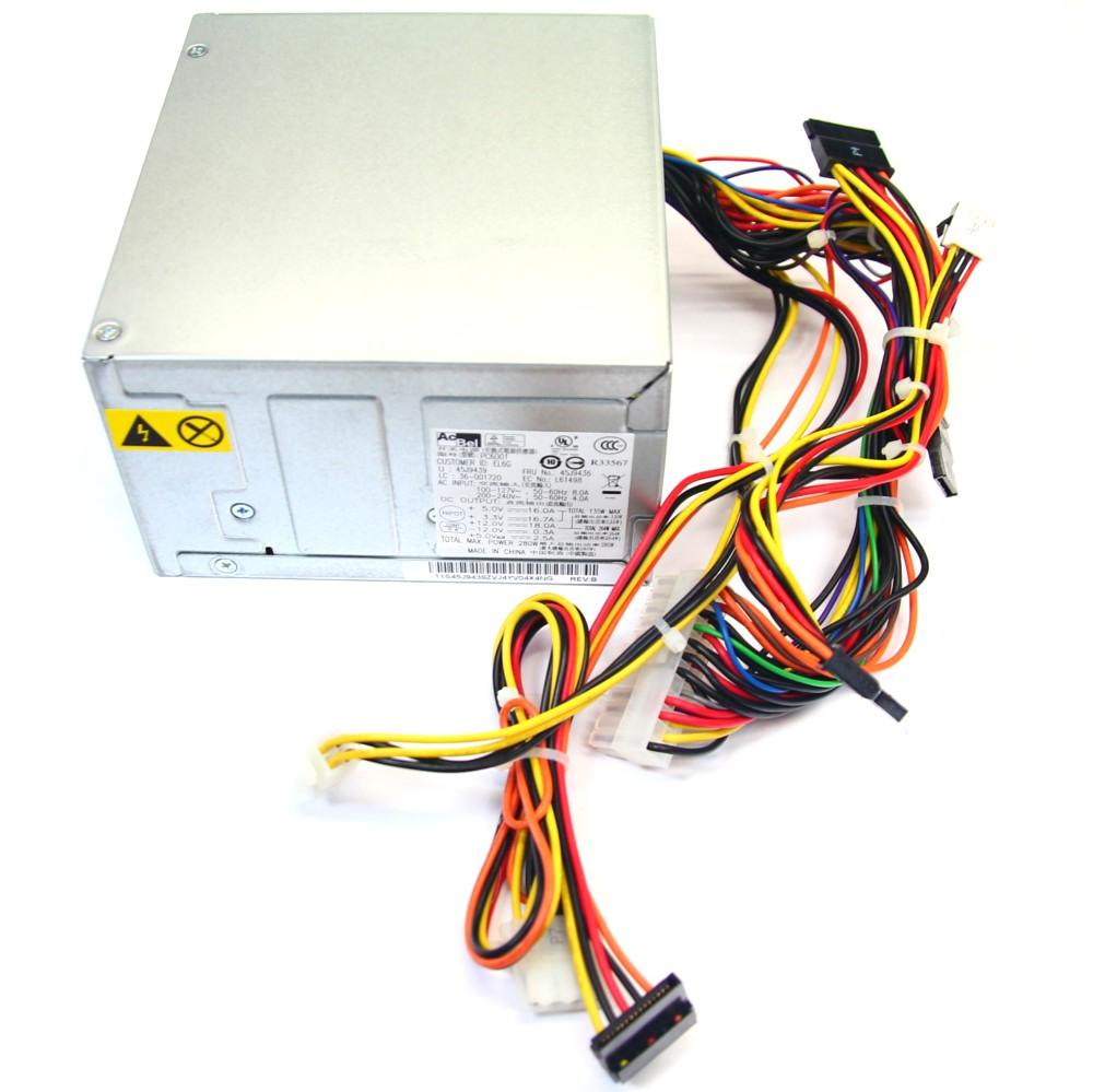 AcBel PC6001 280W Netzteil / Power Supply IBM Lenovo Thinkcentre 45J9439 45J9436 4060787001245