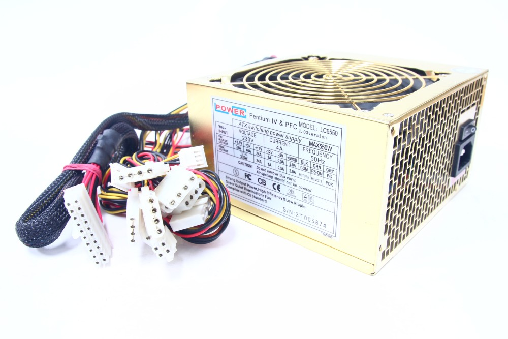 LC Power LC6550 550W Computer Netzteil Switching Power Supply ...