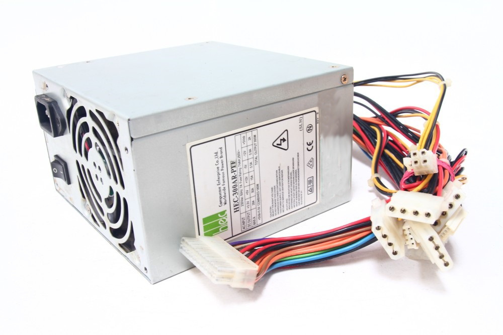 HEC-300AR-PTF 300Watt ATX Desktop PC Netzteil Power Supply Unit PSU 80mm Fan 4060787051745