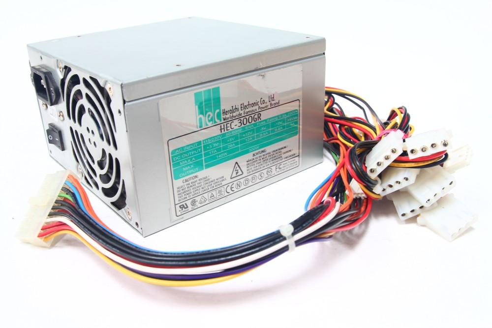 HEC-300GR 300Watt ATX Desktop Computer Netzteil Power Supply Unit PSU 4060787051929