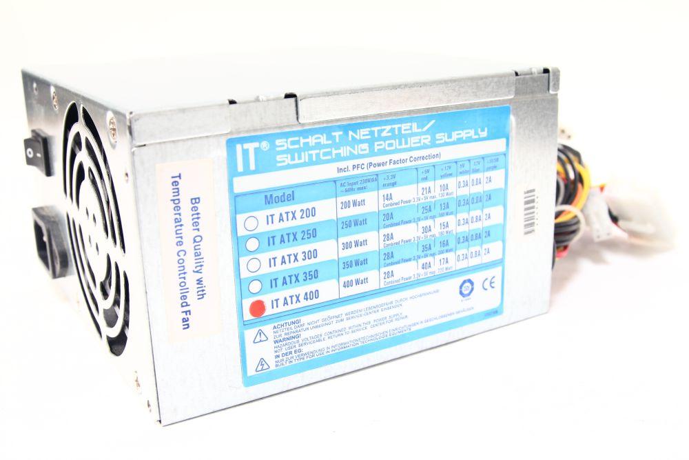 IT ATX 400 Watt Schalt Netzteil / Switching Power Supply PFC ...