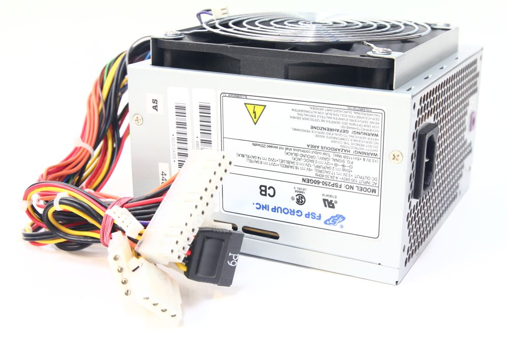 FSP Group Fortron/Source FSP250-60GEN 250Watt Power Supply / Netzteil 120mm Fan 4060787089267