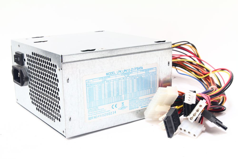lpk12 23 3 sata 420watt atx computer power supply pc netzteil 115v 230v ebay. Black Bedroom Furniture Sets. Home Design Ideas