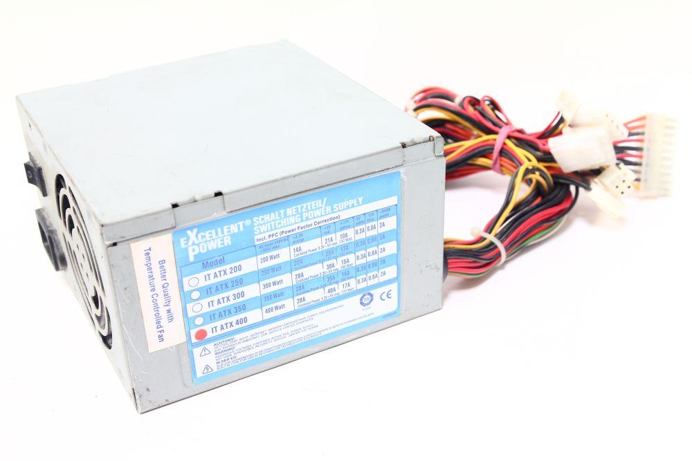 Excellent Power 400W IT ATX 400 Computer Netzteil / Switching Power ...