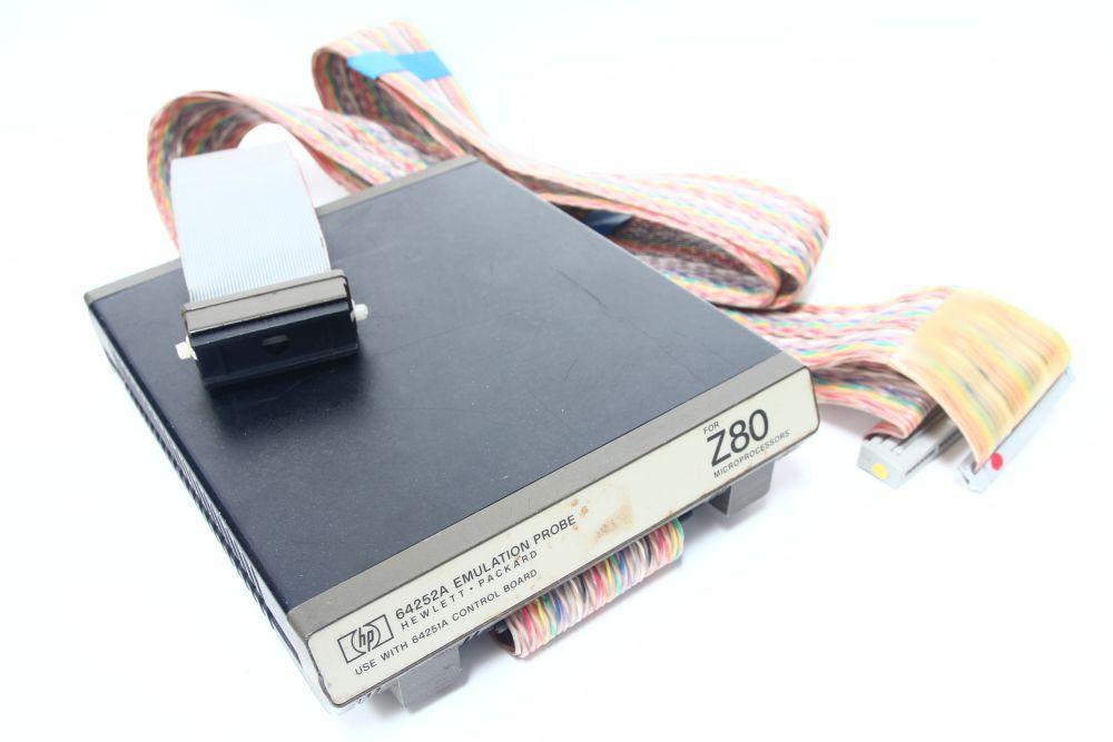Hewlett Packard HP 64252A Emulation Probe for Zilog Z80 Microprocessors 4060787100245