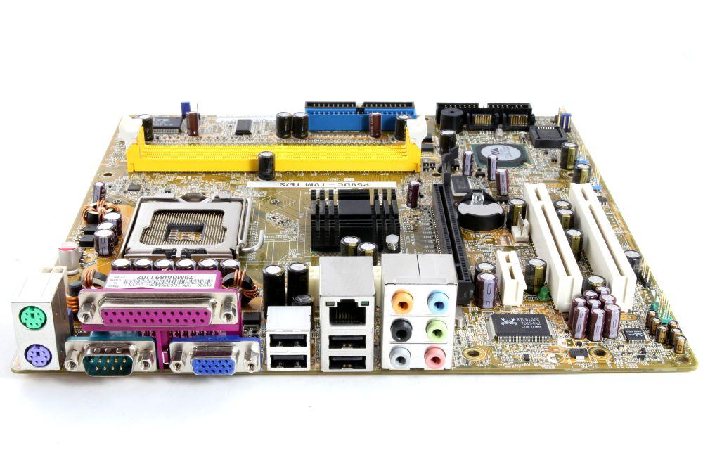 ASUS P5VDC-TVM TE/S mATX Computer PC Motherboard Intel Socket / Sockel LGA775 4060787249746