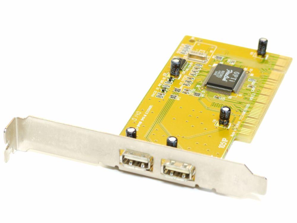 Trust 2 Port USB2.0 Hi-Speed PCI Computer Host Controller Card/Karte 12537 4060787195388
