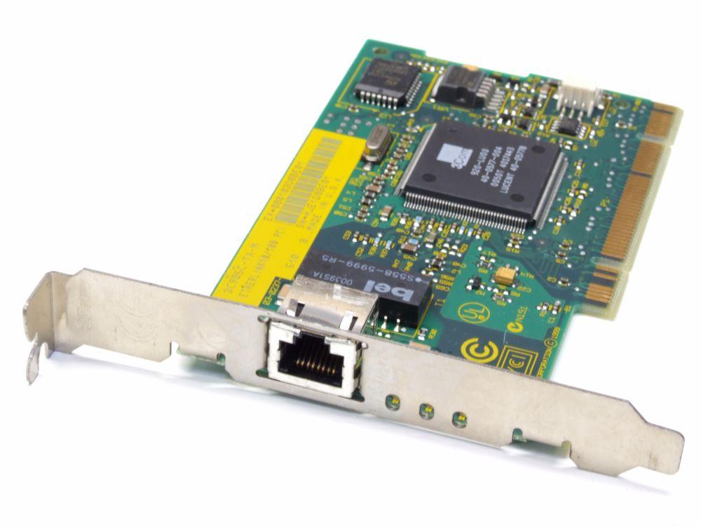 3Com 3C905C-TX-M PCI LAN 10/100MBit NIC Desktop PC Netzwerk-Karte/Network Card 4060787203212