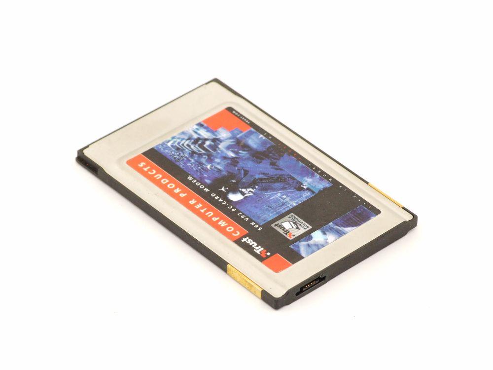 56k PC Card Modem 5V Slot PCMCIA Adapter 16-bit Network Communication Controller 4060787265159