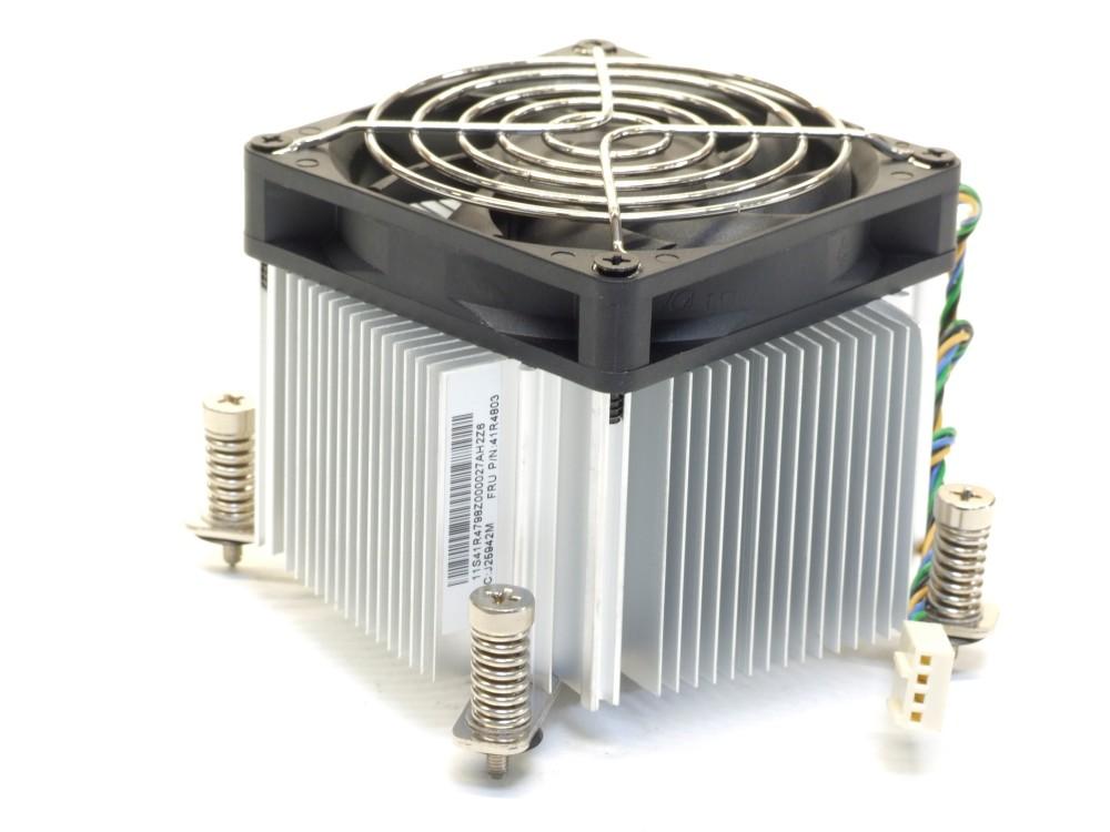 CPU Heat-Sink Aluminium Socket Sockel 775 Fan Lüfter Kühler 4pin Lenovo 41R4803 4060787149107