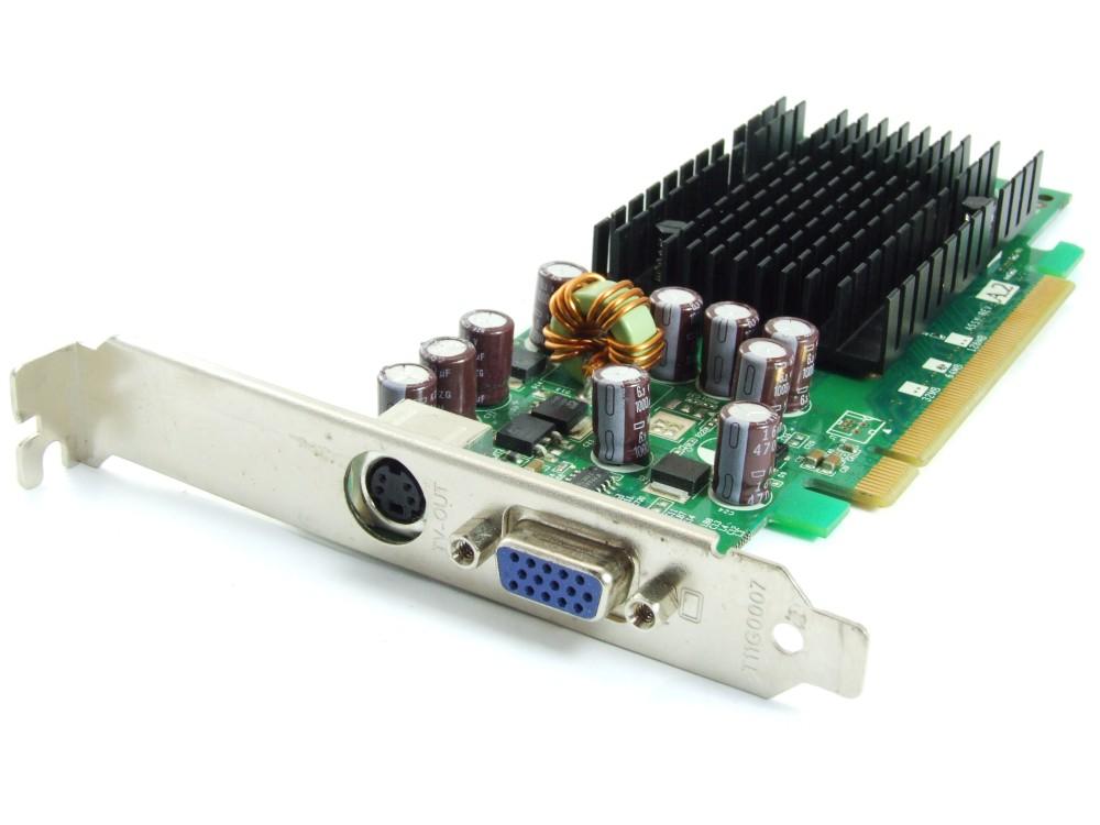 Leadtek PCI-Express LR2A1J GeForce 6200LE TC 64MB  32bit VGA TV-Out Grafikkarte 4060787251824