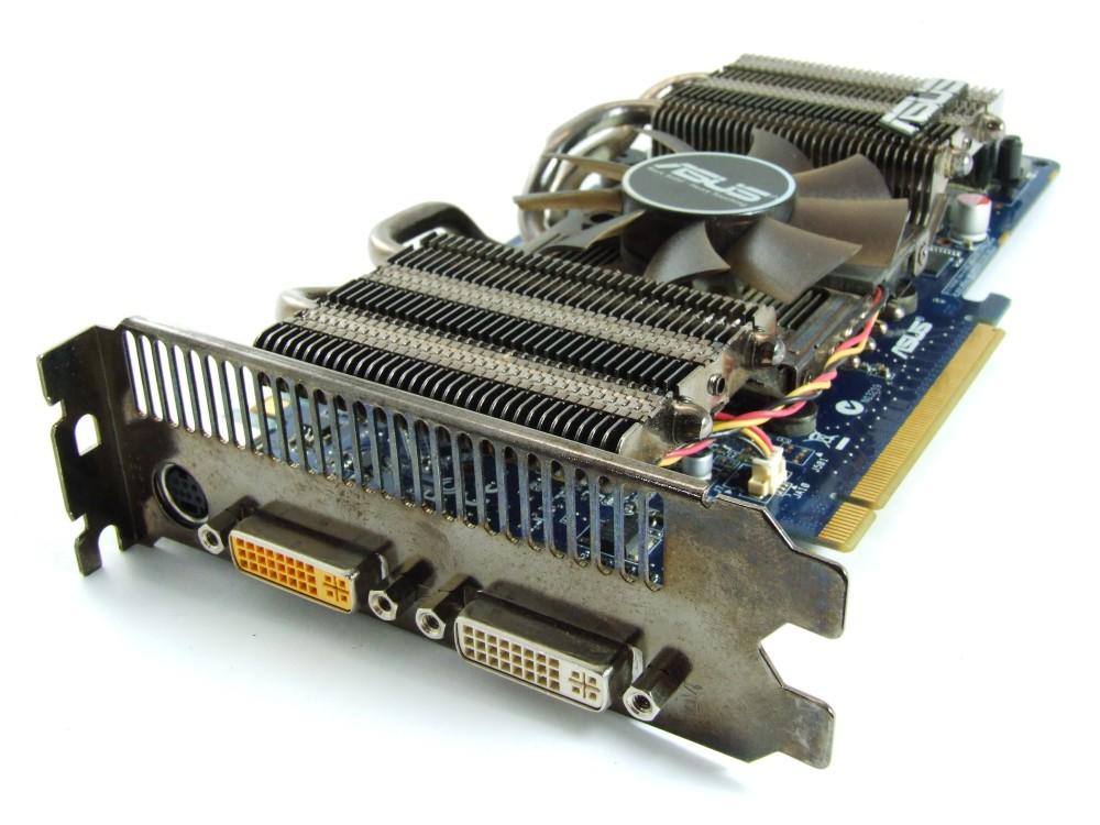 ASUS ENGTS250 DK/HTDI/512MD3/ Dark Knight Series GeForce GTS250 512MB PCIe GPU 4060787252005