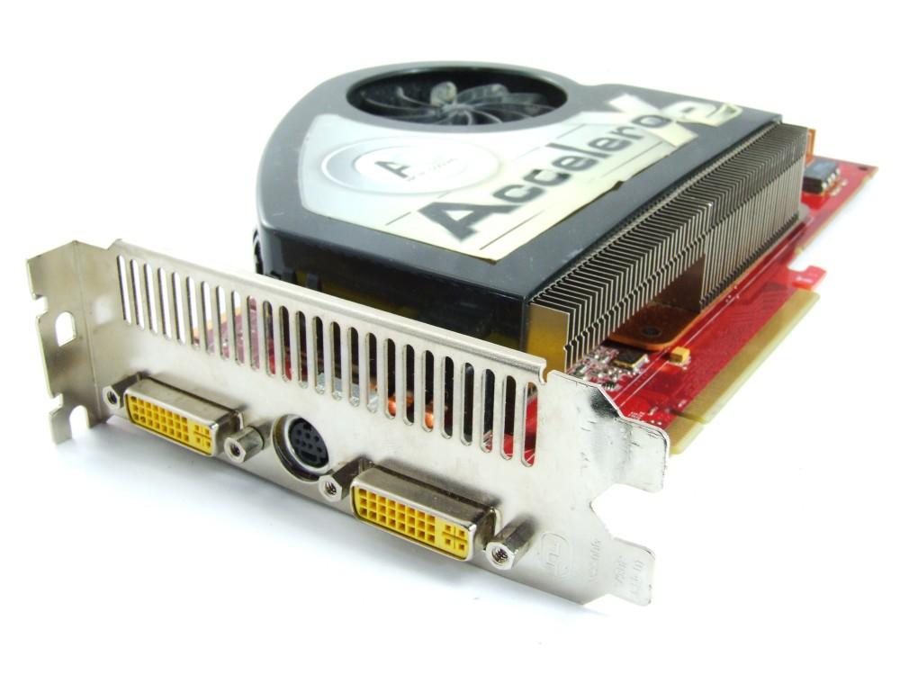 MSI PCIe Radeon X1950 Pro Accelero X2 256MB GDDR3 GPU 2x DVI RX1950PRO-T2D256E 4060787254252