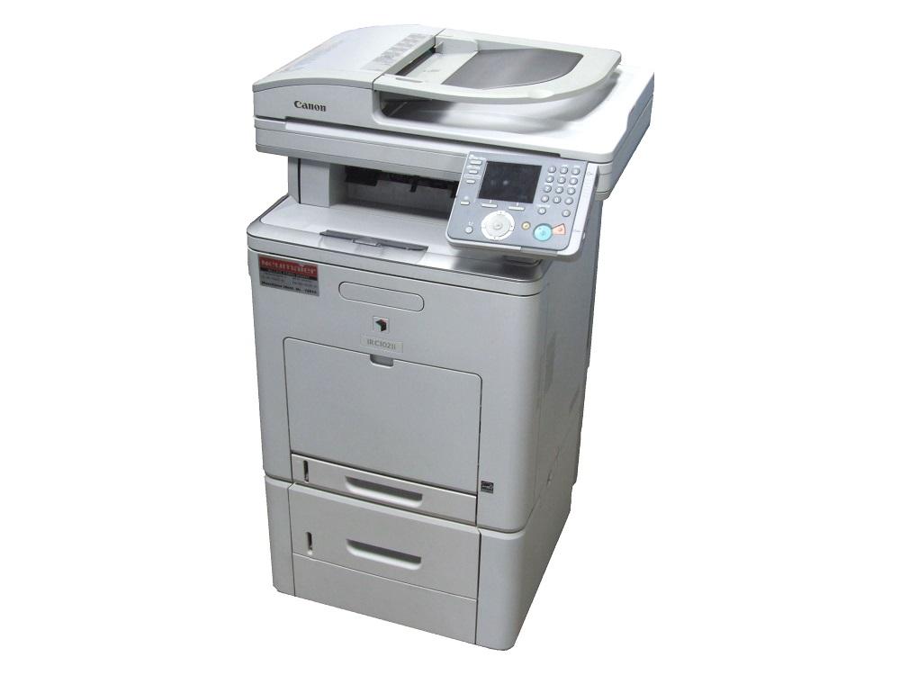 Canon iRC1021i Color Copier Printer Farbkopierer Drucker LAN + Paper Feeder AB-1 4060787175069