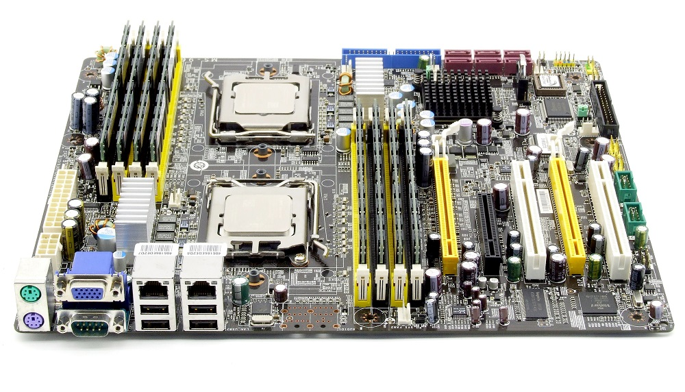 MSI K9ND Speedster2 Server Mainboard Bundle 2x Opteron 2352 QuadCore 2.1GHz 16GB 4060787203809