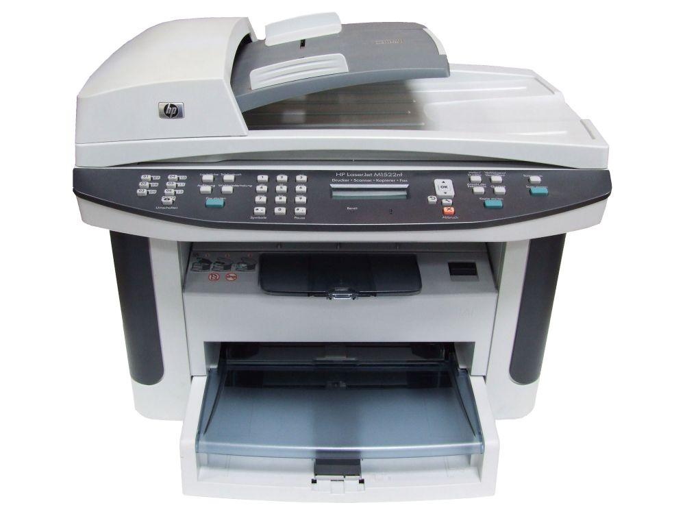 HP LaserJet M1522nf Multifunktions-Gerät Drucker Scanner Kopierer Fax LAN CB534A 4060787227546
