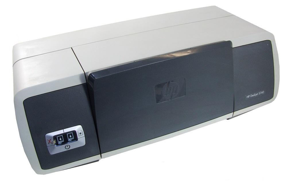 HP Deskjet 5740 Color Inkjet Printer USB Tintenstrahl-Drucker 4800 dpi C9016F 4060787232908