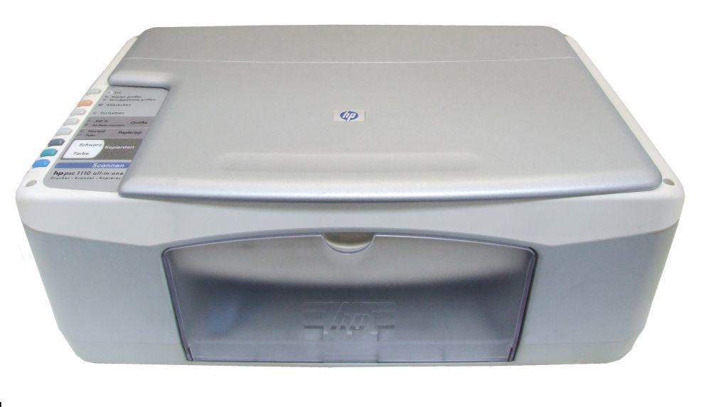 hp psc1110 All-In-One Drucker Scanner Multifunktionsgerät Printer Copier Q1650A 4060787239075