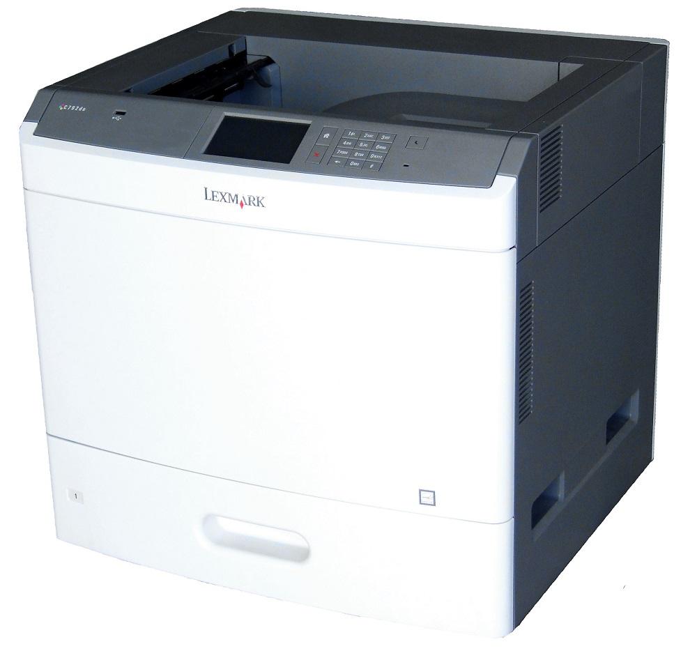 Lexmark C792de Farb-Laserdrucker Color Laser Printer USB LAN 30119 Seiten/Pages 734646215725