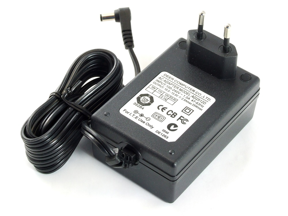 Power Supply Adapter Netzteil Output 12V 2.1A / 2.5A 25W max. LED Driver SMD RGB 4060787255266