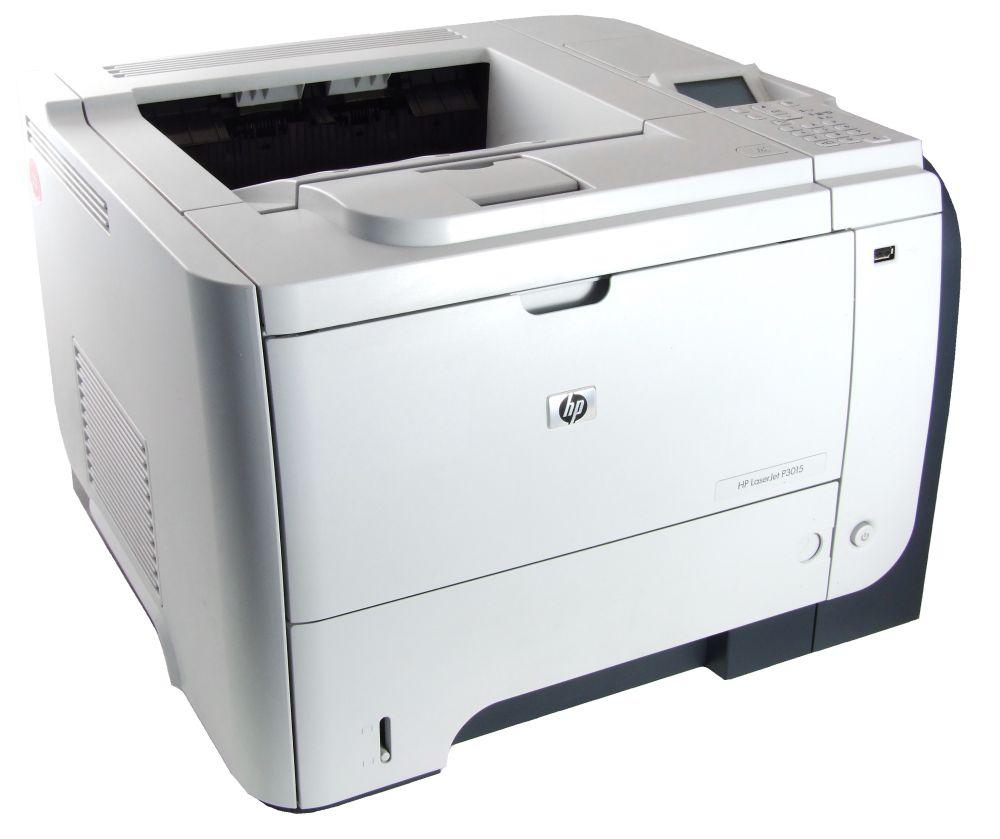 HP LaserJet P3015dn Duplex A4 Büro Laser Drucker Network Office Printer LAN USB 884420455479