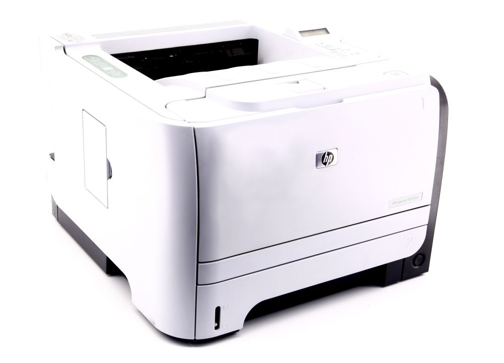 HP P2055dn S/W Duplex Laserdrucker A4 black/white Laser Printer LAN USB CE459A 883585945740