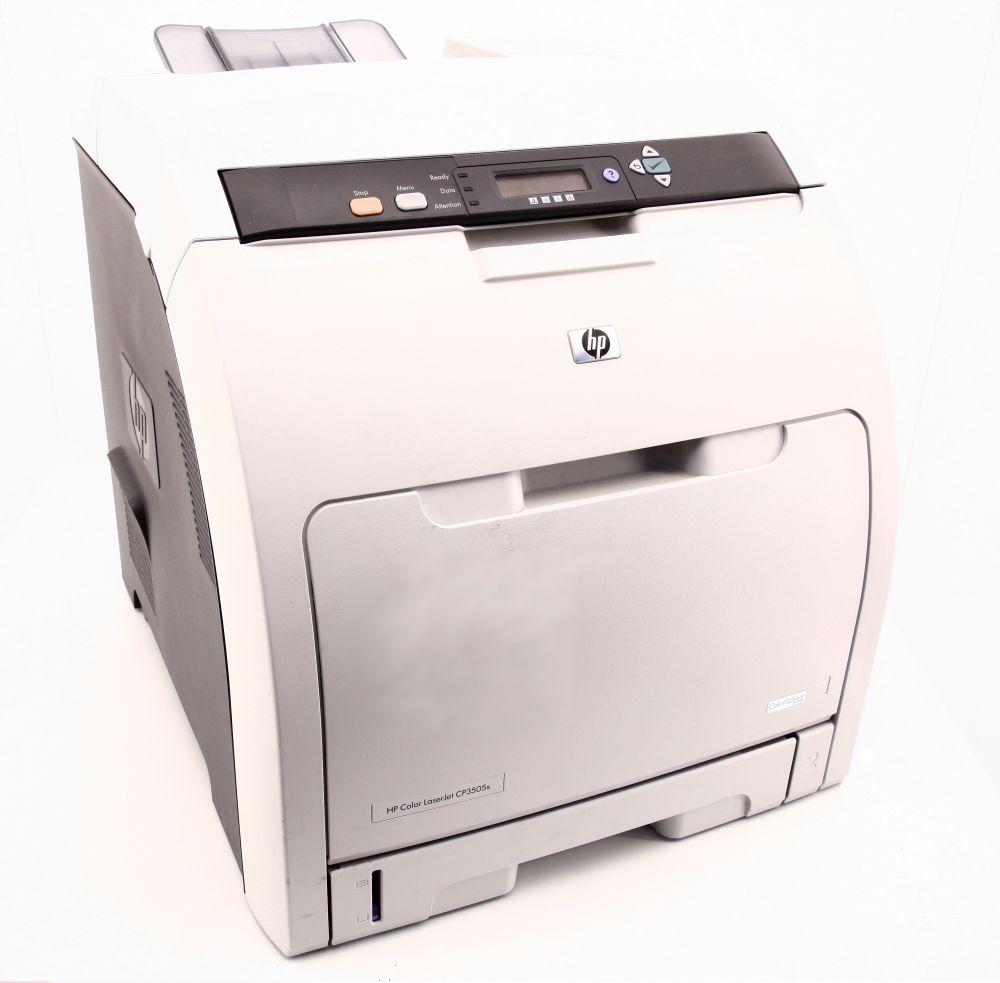 HP Color LaserJet CP3505 Printer Farb Laserdrucker 3561 Seiten/pp faulty/defekt 882780763043