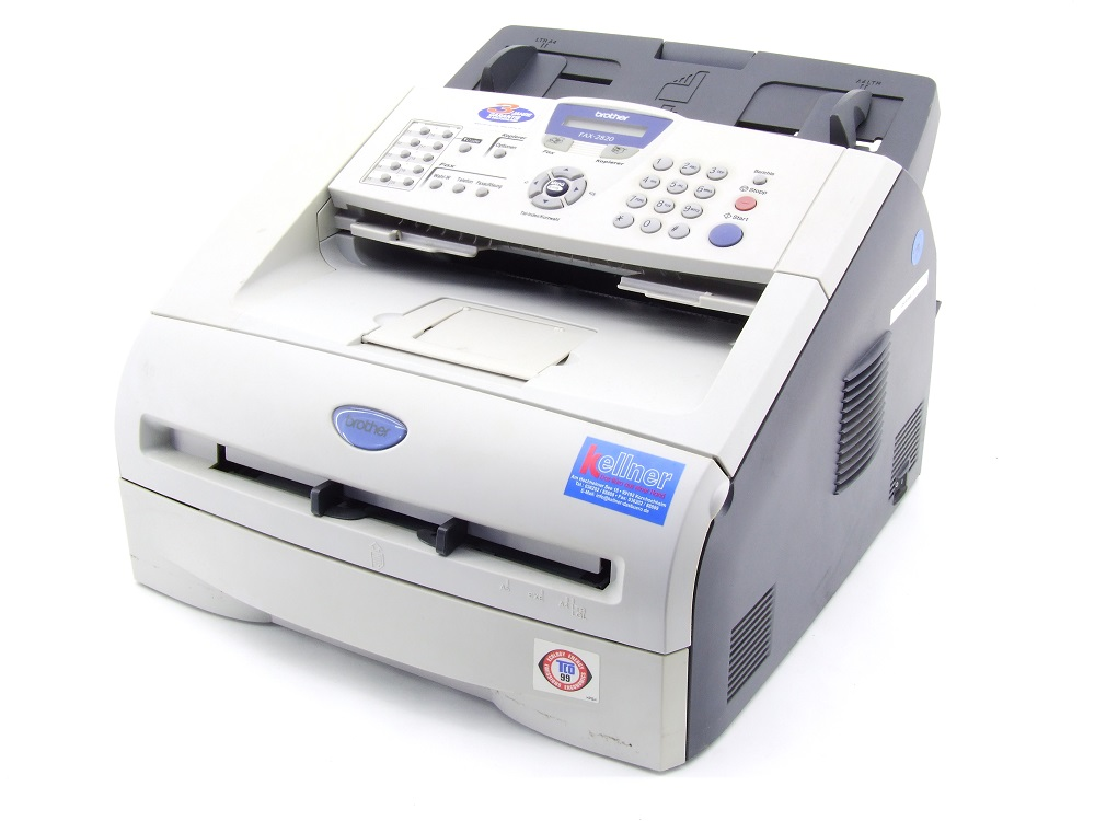 Brother FAX-2820 S/W Laser-Faxgerät Office Black/White Fax Machine 8MB 14.400bps 4977766633796