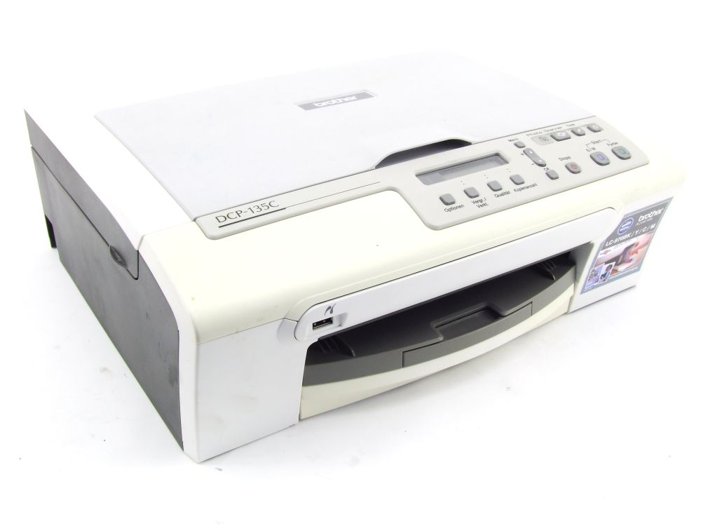 Brother DCP-135C Multifunktions-Drucker MFP Printer Scanner USB faulty/defekt 4060787291424