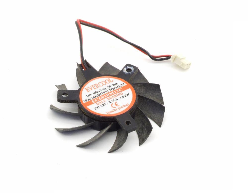 evercool ec6010m12c 55mm gpu cooling fan l fter 2 pin dc. Black Bedroom Furniture Sets. Home Design Ideas