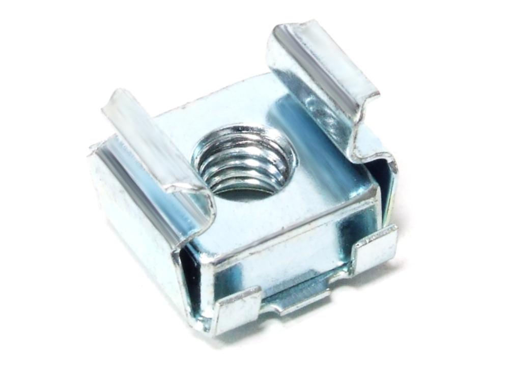 10x Tinnerman M5 Zinc Plated Spring Steel Cage Nut Server Rack / Käfig-Mutter 4060787106971