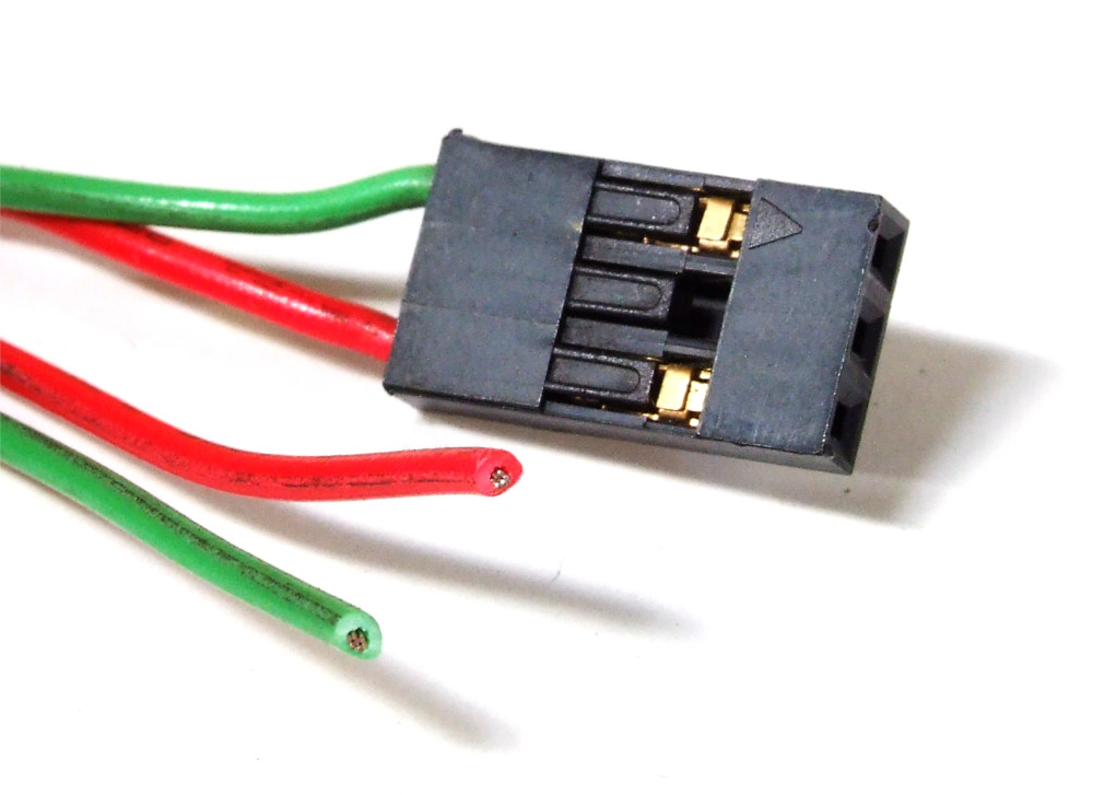3 pin 2 way power cable dupont connector pc computer strom. Black Bedroom Furniture Sets. Home Design Ideas