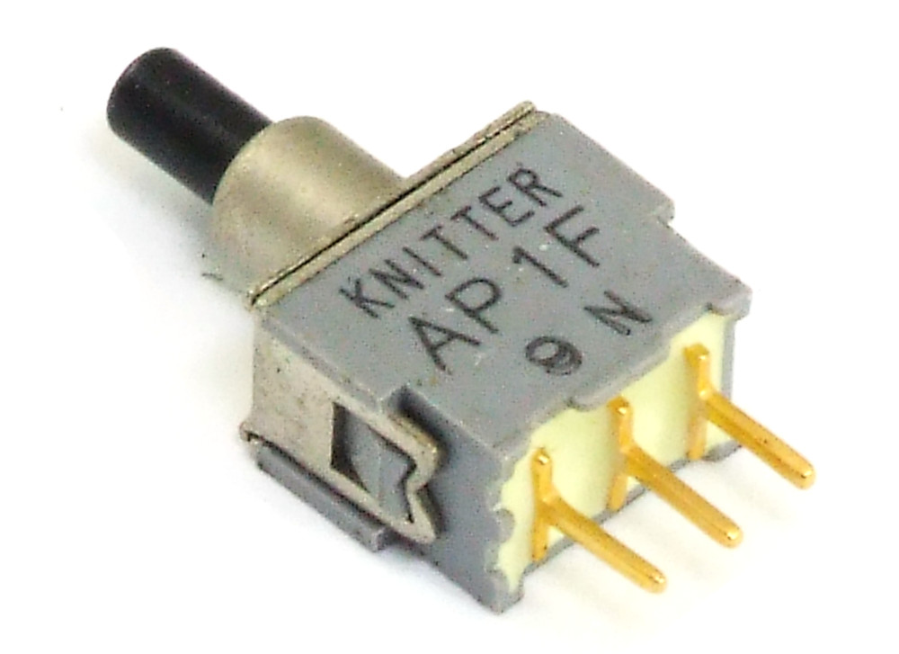 Knitter AP1F APE1F SPDT Push-Button Switch On-On Miniatur Tast ...