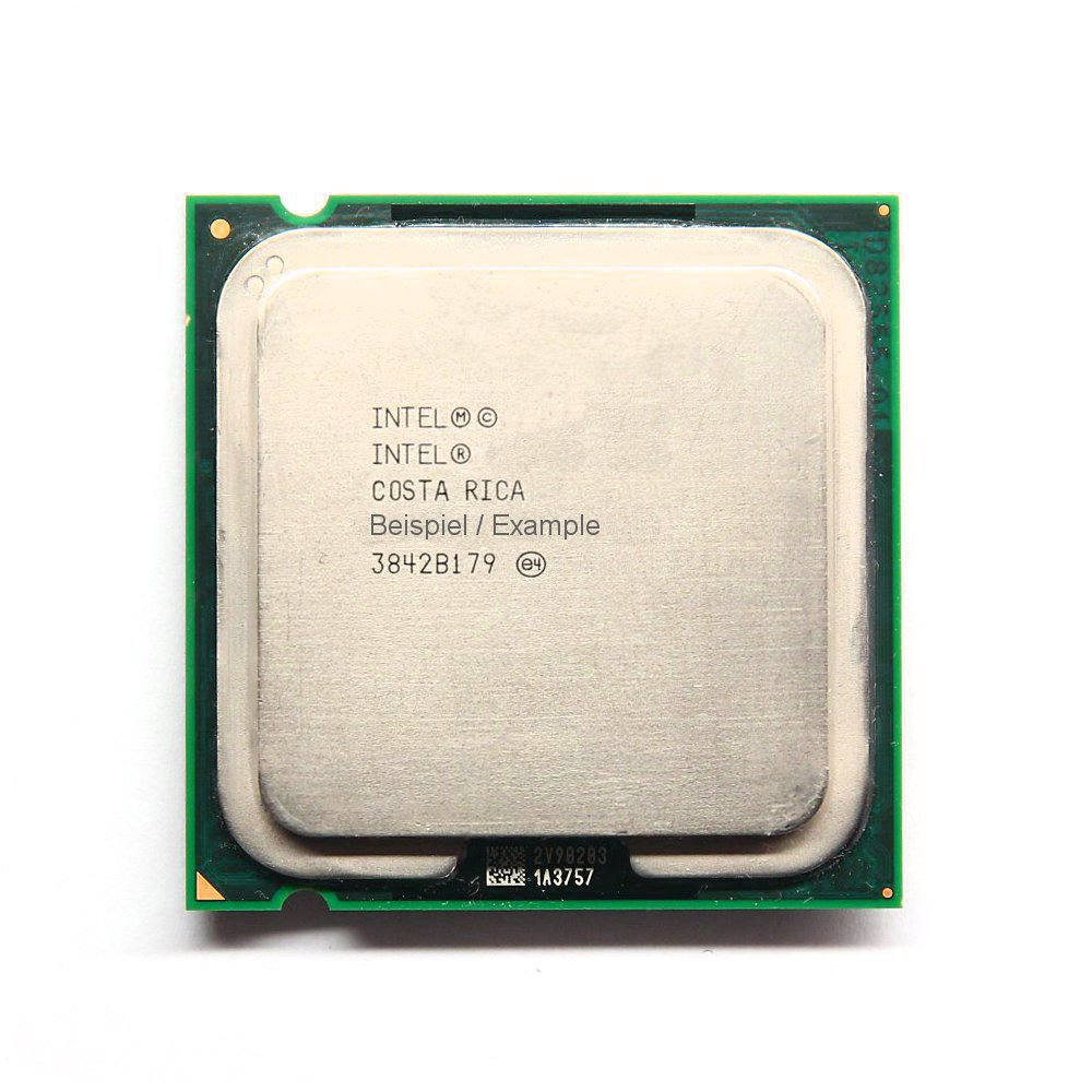 Intel Core 2 Duo E8200 SLAPP 2x2,66GHz/6MB/1333FSB Sockel/Socket LGA775 Dual CPU 4060787000453