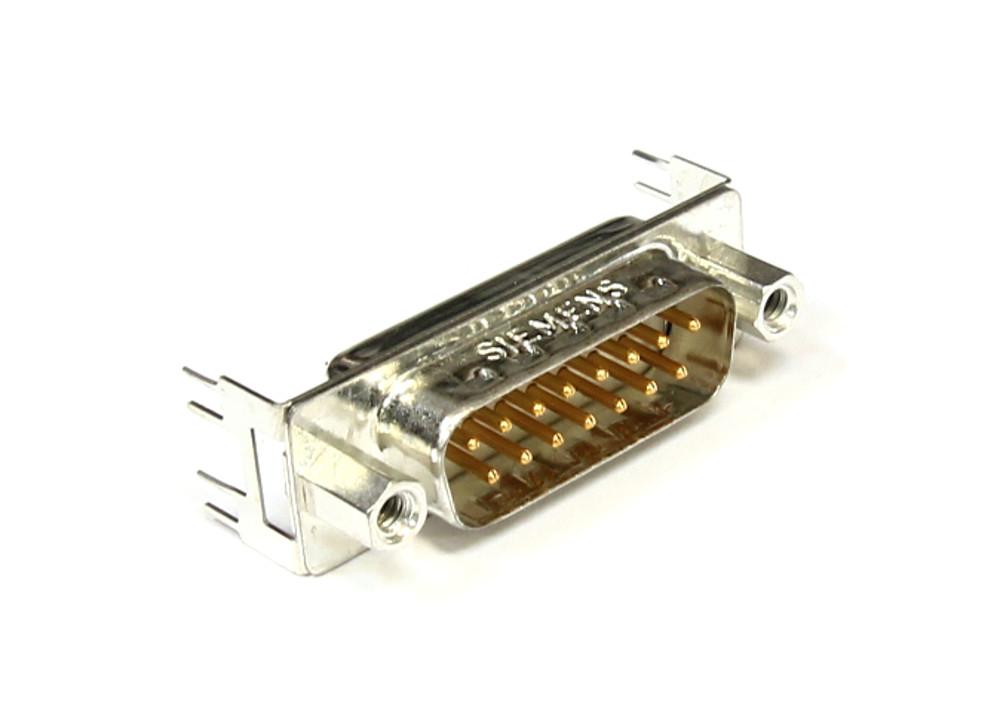 2x Siemens V42254-A2216-C315 D-Sub 15-Pin Male Connector / Stecker Stiftleiste 4060787080165