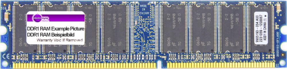 512MB Nanya DDR1 RAM PC3200U 400MHz CL3 NT512D64S88B0GY-5T Speicher-Modul Memory 4060787005434