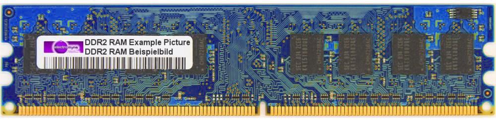 512MB Nanya DDR2 RAM PC2-5300U 667MHz NT512T64U88B0BY-3C Speicher-Modul Memory 4060787005441