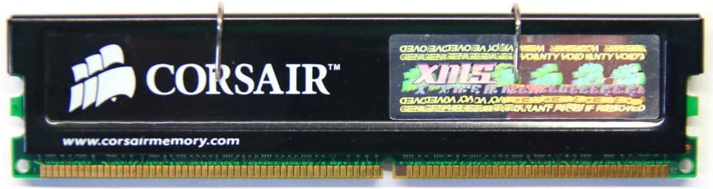 512MB Corsair XMS DDR1-333 PC2700U CL2 CMX512-2700C2 XMS2702 Heatspreader Modul 4060787006349