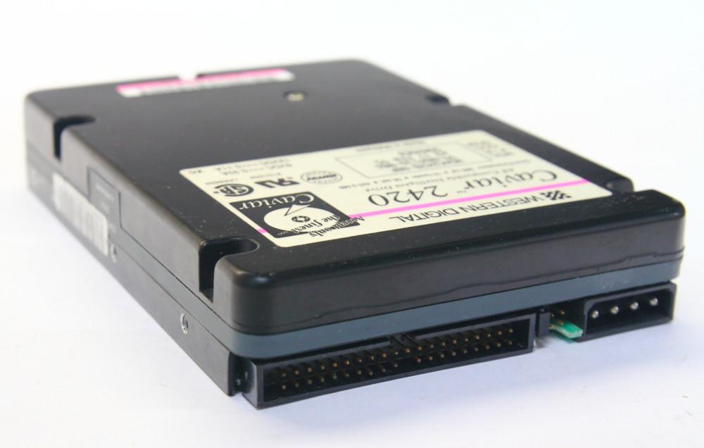 Western Digital Caviar 2200 212.6MB IDE / P-ATA 3652rpm Vintage Hard Disk Drive 4060787028792