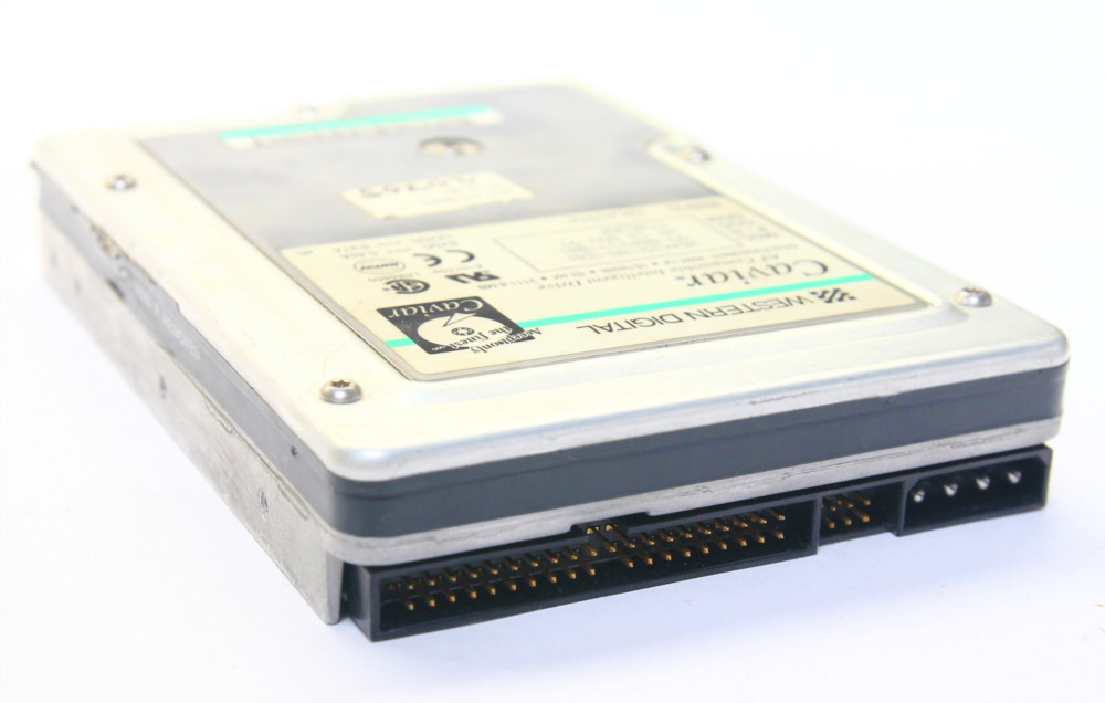 Western Digital Caviar 2850 853.6MB IDE / P-ATA Vintage HDD 4500rpm WDAC2850-00H 4060787010148