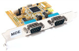 Exsys EX-44042 PCIe x16 RS-232 serielle Karte/Serial Card PC Adapter PCI-express
