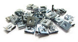 100x Schnappmuttern 2,9mm Blechmuttern Klemmmuttern Snap sheet metal speed nut