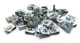 100x Schnappmuttern 2,9mm Blechmuttern Klemmmuttern Snap sheet metal speed nut