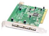 5-Port 4 external/1 internal USB PCI Card/Karte Computer Controller Hub Adapter