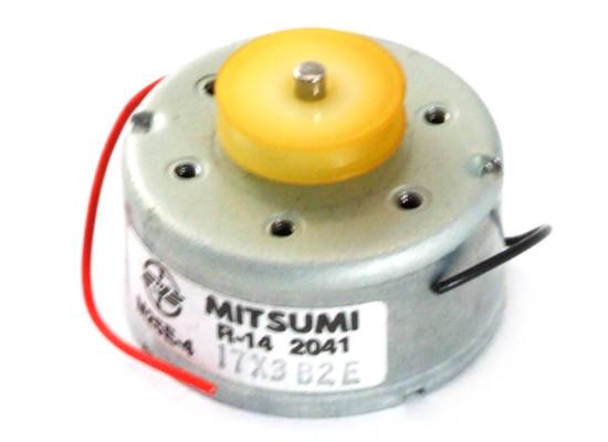 Mitsumi M25E-4 R-14 Micro DC Spindle Spindel Motor Gleichsstrommotor Kleinmotor