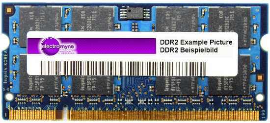 1GB Laptop DDR2-RAM